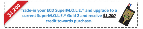 SuperMOLE Gold Trade-In Offer