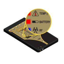 SuperMOLE Gold 2 Thermal Profiler Battery Status