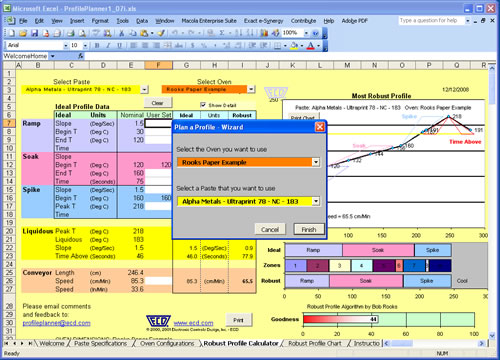 Profile Planner - Plan a Profile